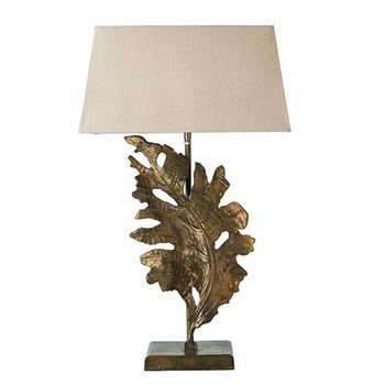 Foliis Lamp -  Antique Gold (51 x 28cm)