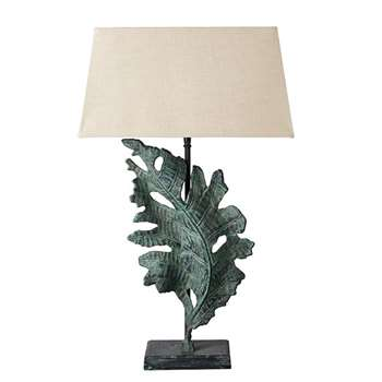 Foliis Lamp - Antique Green (51 x 28cm)