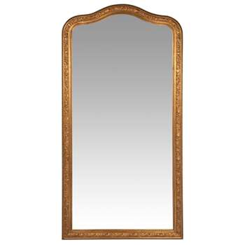 FONTENAY - Gold Carved Mirror (H200 x W100cm)