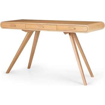 Fonteyn Console Desk, Oak (75 x 140cm)