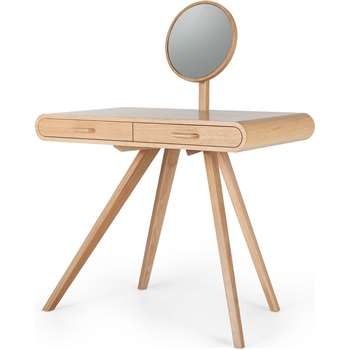 Fonteyn Dressing Table, Oak (75 x 90cm)