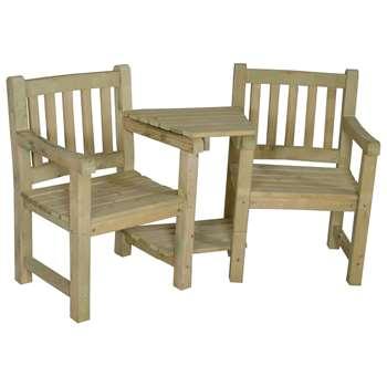 55979227a6ea Forest Harvington Love Seat (H90 x W167 x D72cm)