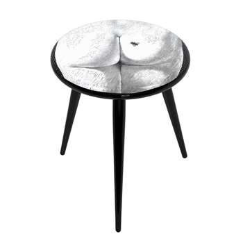 Fornasetti - Bee On My Back Stool (H46 x W38 x D38cm)