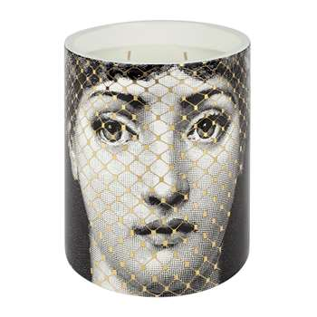 Fornasetti - Golden Burlesque Scented Candle - 900g (H14.5 x W12.5 x D12.5cm)