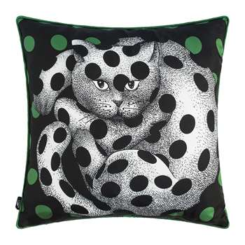 Fornasetti - High Fidelity Silk Cushion (H45 x W45cm)