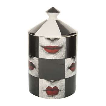 Fornasetti - Labbra Scented Candle - 300g (H15 x W11 x D11cm)