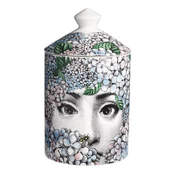 Fornasetti - Ortensia Scented Candle - 300g (H15 x W11 x D11cm)