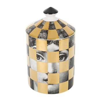 Fornasetti - Scacco Scented Candle - 300g (H16 x W11 x D11cm)