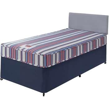 Forty Winks Bibby Basic Single Divan Bed with Mattress 55 x 190cm