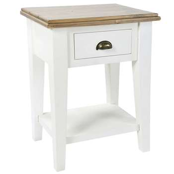 French Country Bedside Table (H64 x W49 x D34cm)