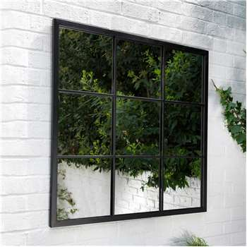 Fulbrook Square Window Mirror (H90 x W90 x D2.5cm)