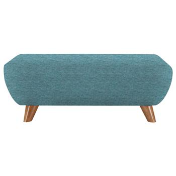 G Plan Vintage The Sixty Seven Footstool Fleck blue