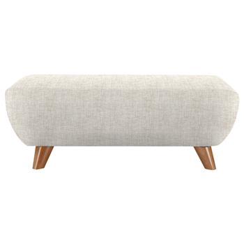 G Plan Vintage The Sixty Seven Footstool Marl Cream