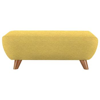 G Plan Vintage The Sixty Seven Footstool Tonic Mustard