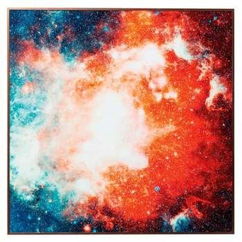 Galaxy art (H80 x W80 x D2.5cm)