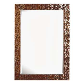 Gallery Brookfield Copper Wall Mirror (83 x 67cm)