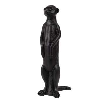 GARCIA - Black Meerkat Ornament
