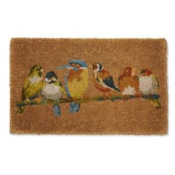 Garden Birds Doormat (45 x 75cm)