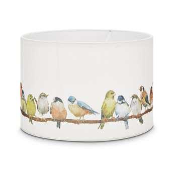 Garden Birds Drum Shade