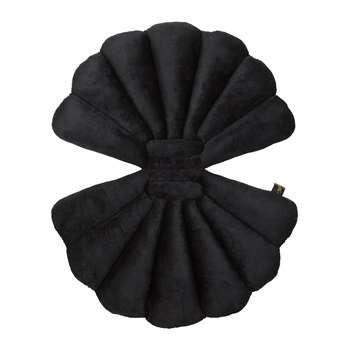 Garden Glory - Shell Water Repellent Outdoor Cushion - Black (75 x 47cm)