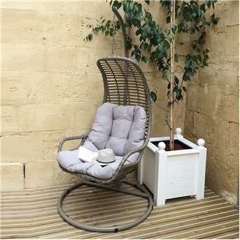 Garden Rattan Egg Hanging Chair