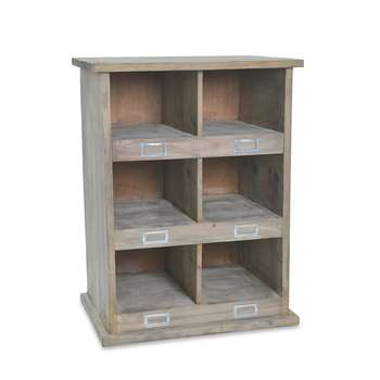 Garden Trading - Chedworth Shoe Locker - 6 Compartment (66 x 50cm)