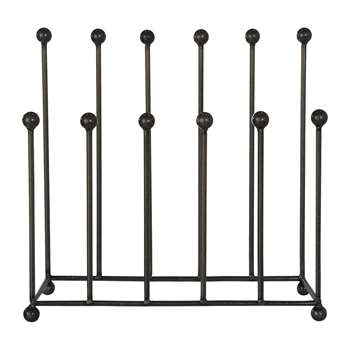 Garden Trading - Farringdon Welly Stand - Steel (H52 x W54 x D20cm)