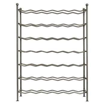 Garden Trading - Farringdon Wine Rack - Steel (H76 x W56 x D26.5cm)