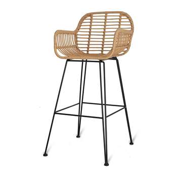 Garden Trading - Hampstead Bar Stool (H109 x W52 x D60cm)