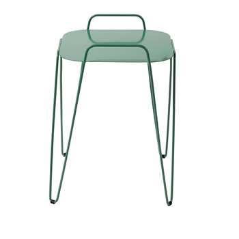 GARETT Green Metal End Table