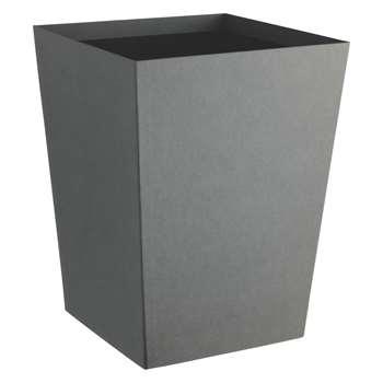 Garner Grey Waste Paper Bin (H38 x W29 x D29cm)