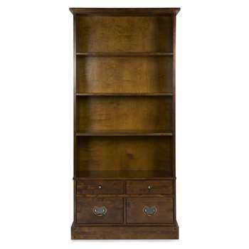 Garrat Chestnut 4 Drawer Bookcase (181 x 87cm)
