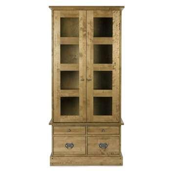 Garrat Honey 2 Door 4 Drawer Display Cabinet (183 x 87cm)