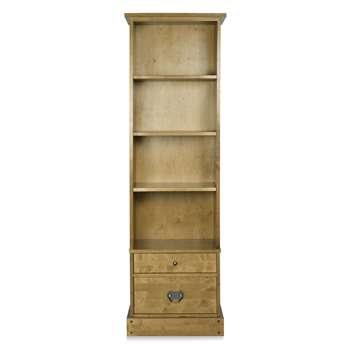 Garrat Honey 2 Drawer Bookcase (183 x 58cm)