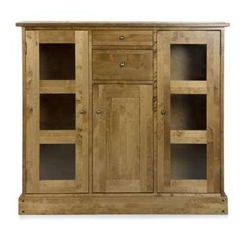 Garrat Honey 3 Door 2 Drawer Low Display Unit (116 x 129cm)