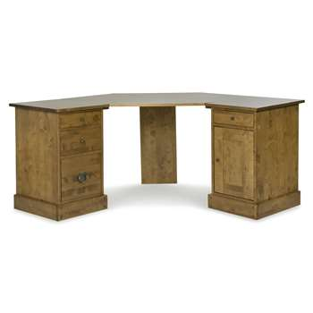 Garrat Honey Corner Desk Top (84 x 87cm)