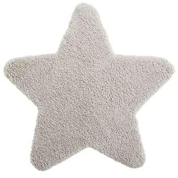 GASPARD Beige Star Rug (H100 x W100cm)