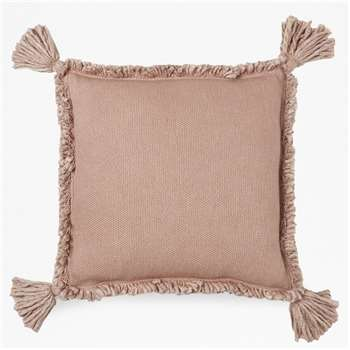 Genie Tassel Cushion - Pale Rose (H45 x W45cm)