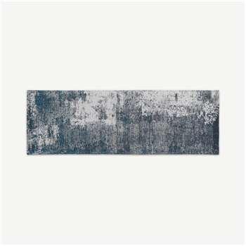 Genna Jacquard Runner, Blue (H66 x W200cm)