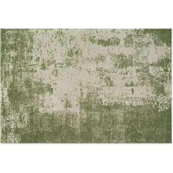 Genna Rug, Extra Large, Green (H200 x W300cm)