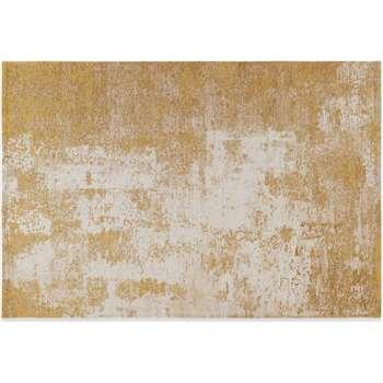 Genna Rug, Extra Large, Gold (H200 x W300cm)
