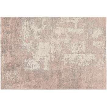 Genna Rug, Extra Large, Dusky Pink (H200 x W300cm)
