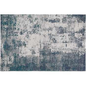 Genna Rug, Petrol Blue (H160 x W230cm)