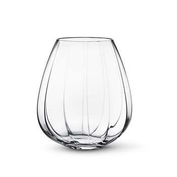 Georg Jensen - Facet Glass Vase - Large (29 x 25cm)