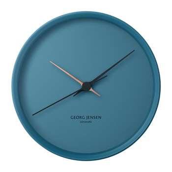 Georg Jensen - Henning Koppel Clock - Blue (H22 x W22cm)