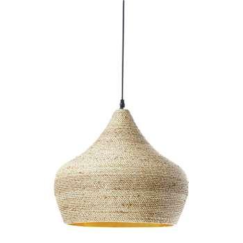 GHABOU Rattan Pendant Lamp (H34 x W40 x D40cm)