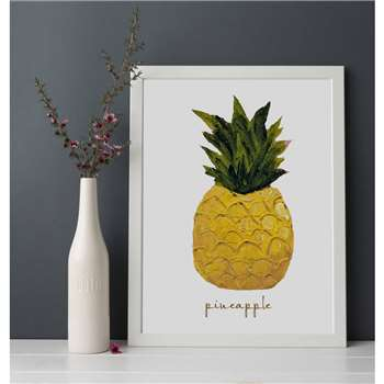 Giddy Kipper A4 Pineapple Print