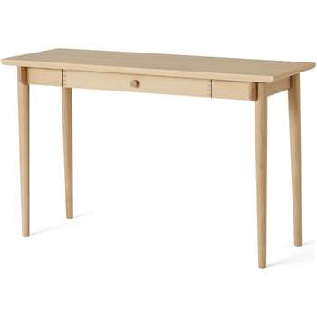 Gideon Console Desk, Washed Oak (H75 x W129 x D45cm)