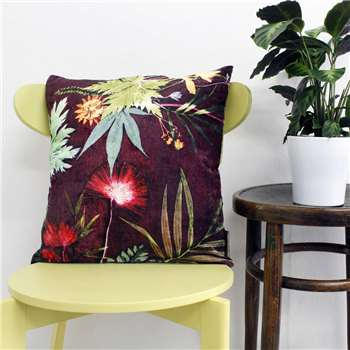 Gillian Arnold Botanical Design Floral Scatter And Floor Cushion (45 x 45cm)