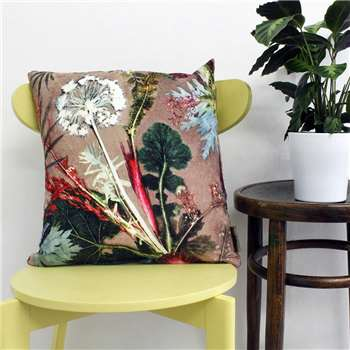 Gillian Arnold Tropical Design Throw Pillow, Scatter And Floor Cushion (45 x 45cm)